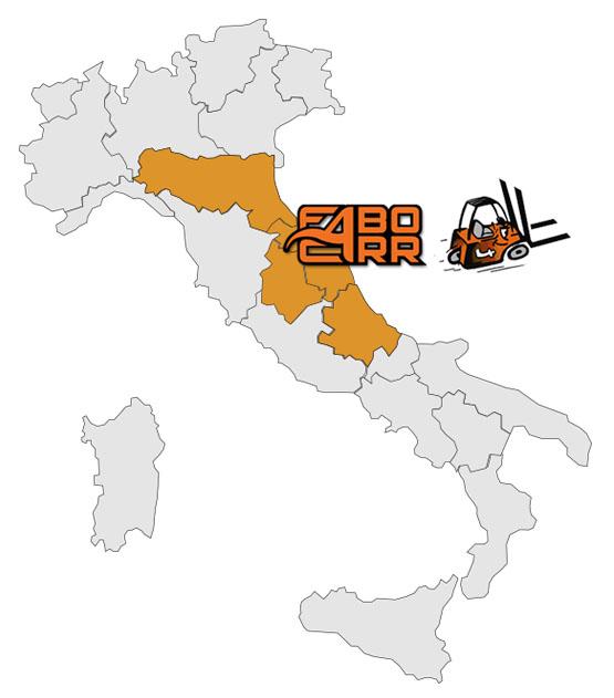 asistenza manutenzione carrelli marche emilia romagna abruzzo umbria