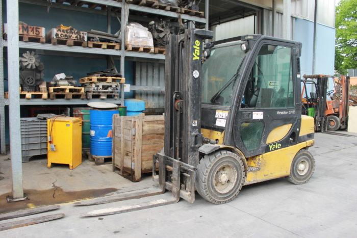 Carrello elevatore diesel a 4 ruote YALE GDP25VX